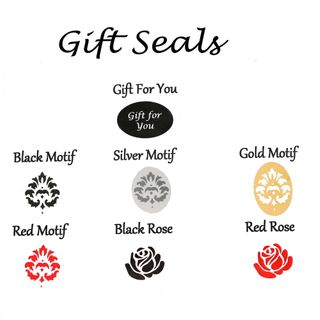 GIFT SEALS & CLEAR TAPE