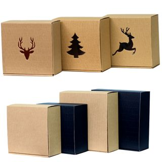 CHRISTMAS BOX & TRAY