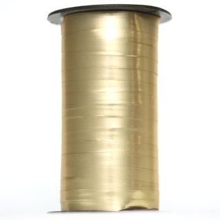 CURLING RIBBON MATT 5mm x 250M GOLD