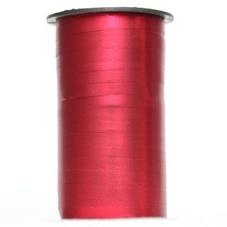 CURLING RIBBON MATT 5mm x 250M RED