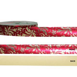 METALLIC DESIGN 25mm x 50M RED/GOLD DESIGNS