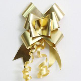 P.BOW MATT METALLIC 32mm GOLD (100)