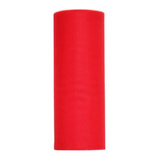TULLE 150mm x 23M RED