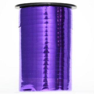 CURLING RIBBON GLOSS MET. 5mm x 460M PURPLE-BUY 1 GET 1 FREE