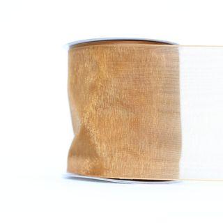 MONO EDGE ORGANZA 70mm x 23M GOLD