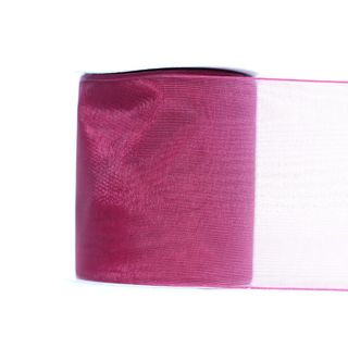 MONO EDGE ORGANZA 70mm x 23M WINE