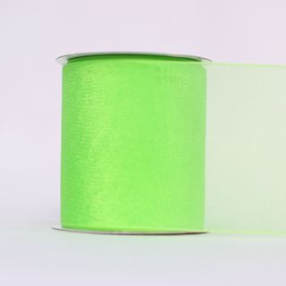 MONO EDGE ORGANZA 70mm x 23M LIME