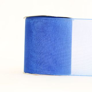MONO EDGE ORGANZA 70mm x 23M ROYAL