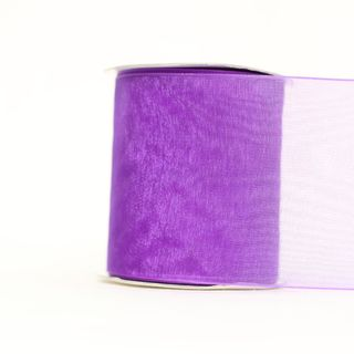 MONO EDGE ORGANZA 70mm x 23M PURPLE