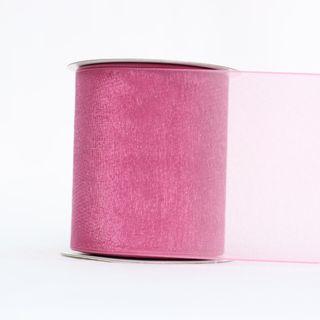 MONO EDGE ORGANZA 70mm x 23M COLONIAL ROSE
