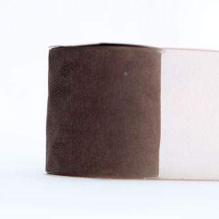 MONO EDGE ORGANZA 70mm x 23M BROWN