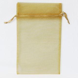 POUCH LARGE 25(H) x 15(W)cm (10) GOLD