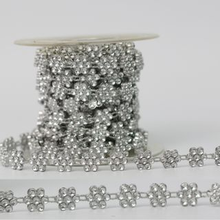 CLUSTER 10mm x 9.1M SILVER