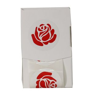 GIFT SEALS ROSE RED (200)