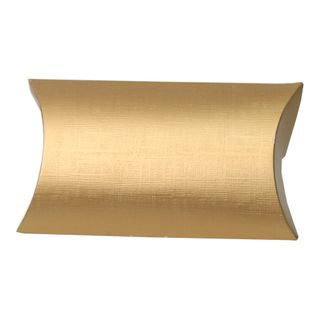 PILLOW LARGE 170(L)x130(W)x40(W)mm GOLD (PACK OF 10)