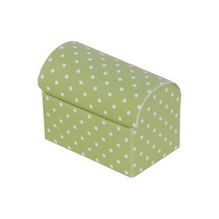 CHEST SMALL 70x45x52mm DOTTI GREEN-PACK OF 10 (Buy1Get1-NO RETURNS