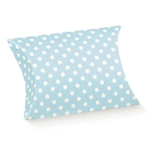 PILLOW SMALL 70(L)x70(W)x25(H)mm DOTTI BLUE  (PACK OF 10)