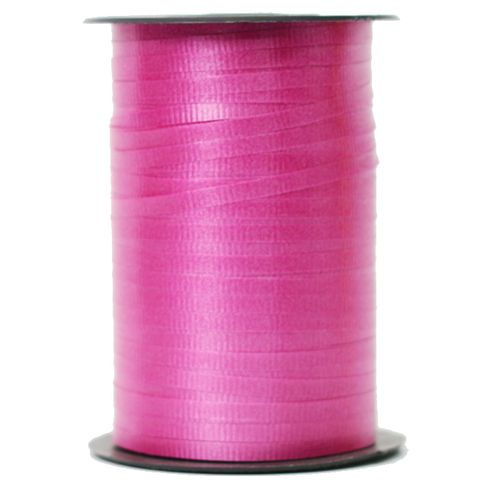 CURLING RIBBON RIBBED 5mm x 460M HOT PINK