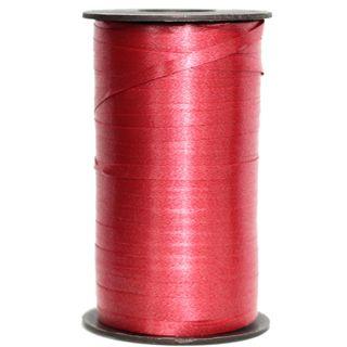 CURLING RIBBON PLAIN 5mm x 460M RED