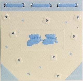GIFT CARD BLUE BOOTIES 78mm X 78mm