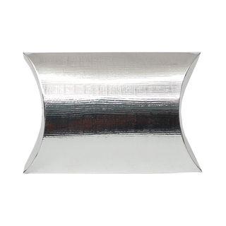 PILLOW MEDIUM 100(L)x100(W)x35(H)mm SILVER  (PACK OF 10)
