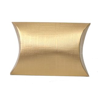PILLOW SMALL 70(L)x70(W)x25(H)mm GOLD (PACK OF 10)
