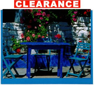 GIFT CARD 06 BLUE TABLE 90mm x 70mm (MIN BUY 10)