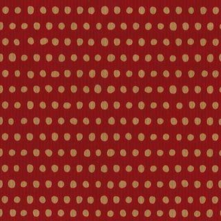 MINI ROLL RIB KRAFT MINI DOT RED 200mm x 50M