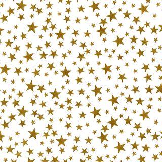TISSUE PRINTED QUIRE (20) STARLIGHT GOLD SIZE 76cm X 50cm