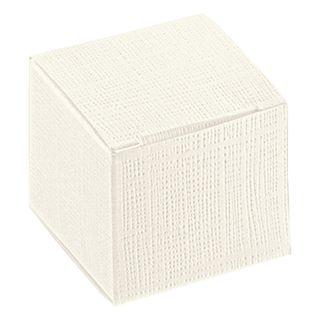 CUBE LARGE 100(L)x100(W)x100(H)mm WHITE  (MIN BUY 10)