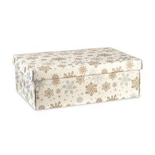 SNOWFLAKES BOX SMALL 300(L) X 230(W) X 110(H) MM