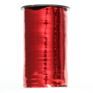 CURLING RIBBON GLOSS MET. 5mm x 230M RED