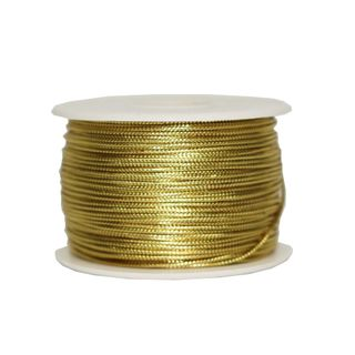 TINSEL CORD 2mm x 92M GOLD