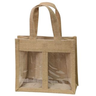 COTTAGE GIFT JUTE BAG 179(H)x200(W)x95(G)mm MIN BUY 10