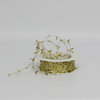 BUTTERFLY TINSEL 1mm x 25M GOLD