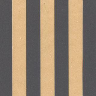 KRAFT STRIPE BLACK 600mmx50M