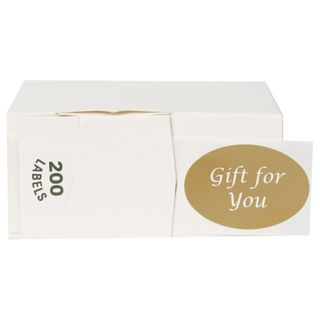 GIFT SEALS GIFT FOR YOU - GOLD (200)