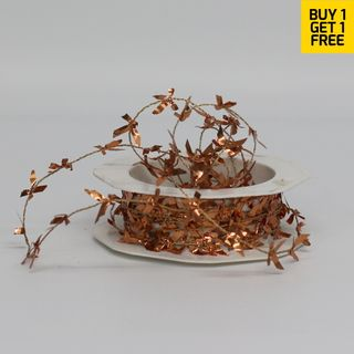 BUTTERFLY TINSEL 1mm x 25M COPPER-BUY 1 GET 1 FREE