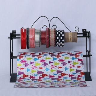PAPER STAND HOLDS 2 ROLLS UP TO 600mm WIDE
