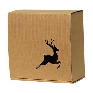 BASSANO BOX REINDEER 250(L)x250(W)x120(H)mm MEDIUM  - DUE OCTOBER