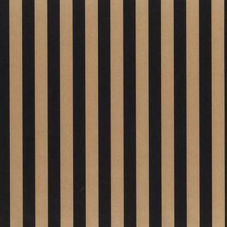 KRAFT STRIPE BLACK 500mm x 50M - DUE OCTOBER
