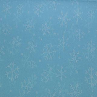 TISSUE PRINTED QUIRE (20) SNOWDRIFT BLUE SIZE 76cm X 50cm