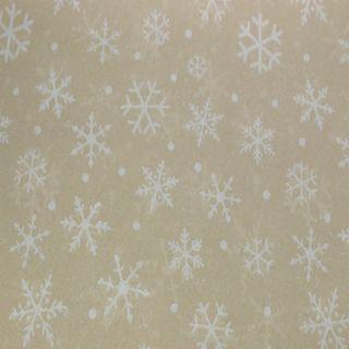 TISSUE PRINTED QUIRE (20) SNOWDRIFT KRAFT SIZE 76cm X 50cm