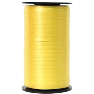 CURLING RIBBON RIBBED 5mm x 460M YELLOW