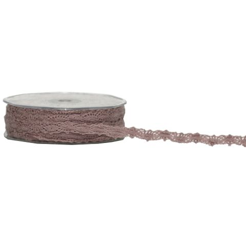 VICTORIAS LACE 12mm x 20M MUSK