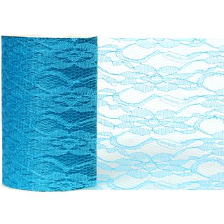 LACE 150mm x 23M TURQUOISE