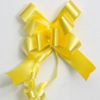 P.BOW PLAIN 22mm DAFFODIL (100)