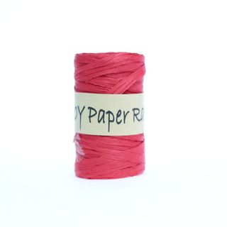 PAPER RAFFIA 40mm x 92M RED