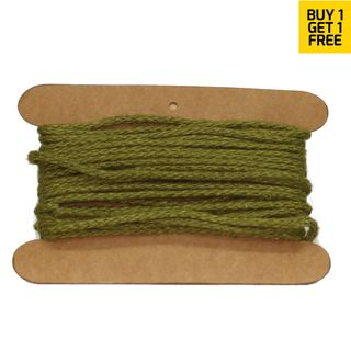 JUTE WIRED 3mmx10M OLIVE-BUY1 GET1 FREE