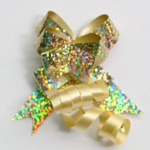 P.BOW HOLOGRAPHIC 14mm GOLD (100)